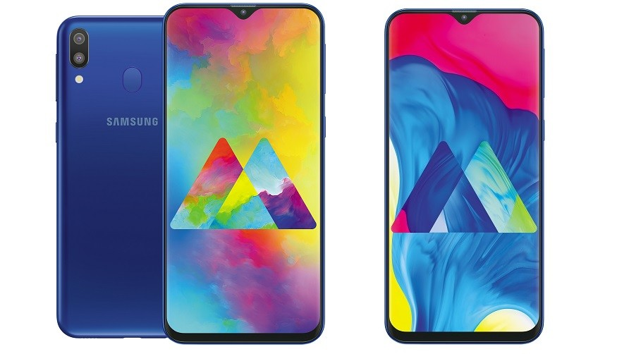 "Samsung Galaxy M10 and M20: the ""notch"" debuts on Samsung with cut-off prices and 5,000 mAh batteries"