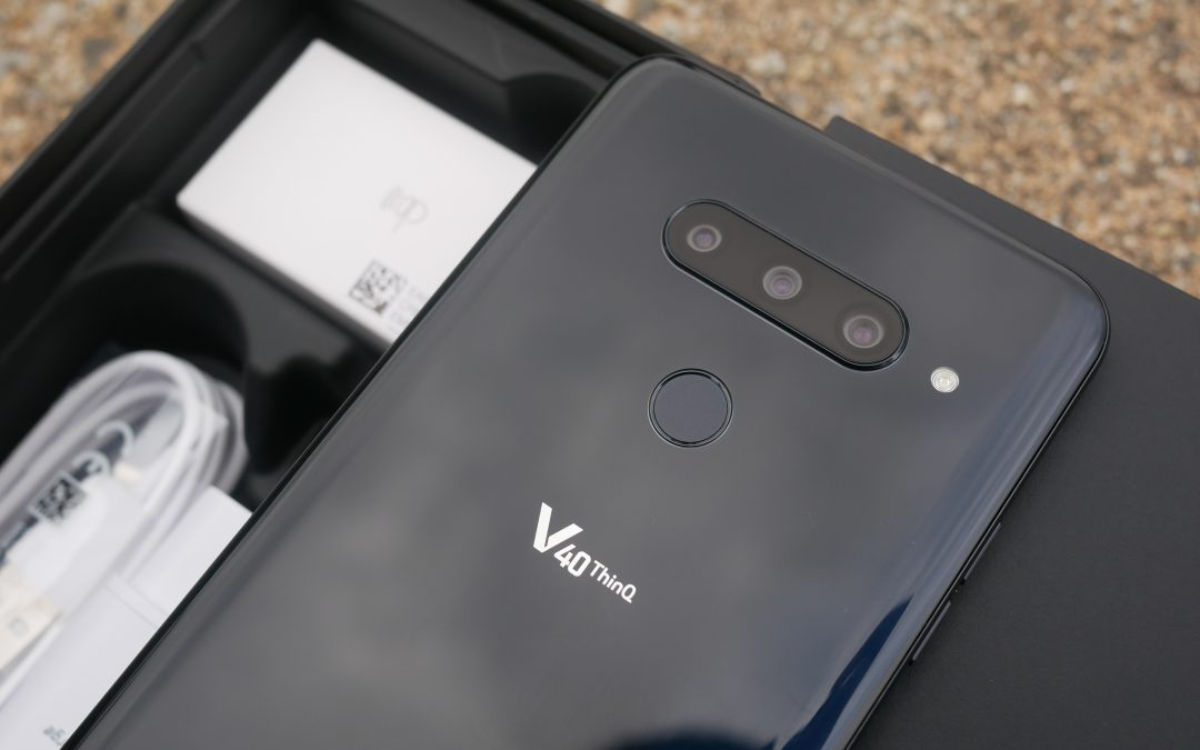 LG V40, analysis: five cameras for a phone that gives pleasure to teach