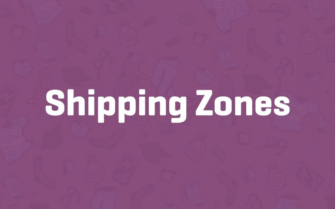 Create shipping zones in Woocommerce