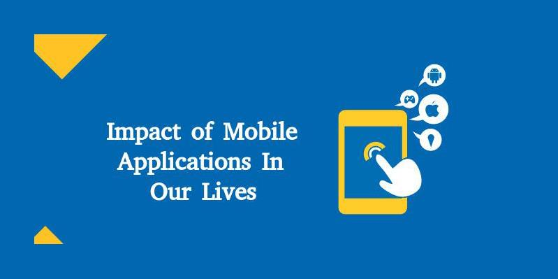 What social impact do mobile applications have?