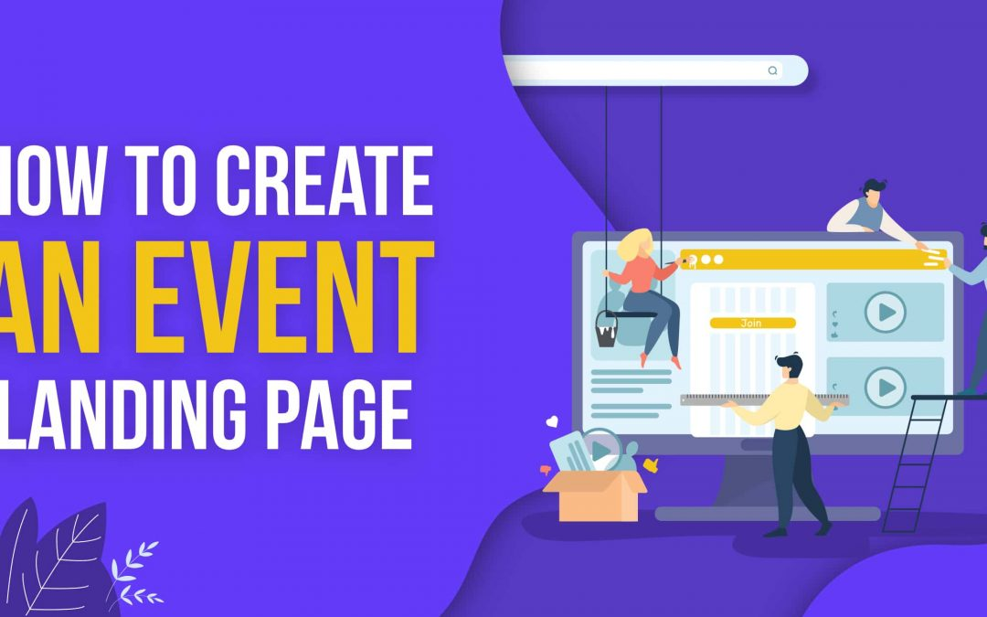 How to create a perfect event landing page