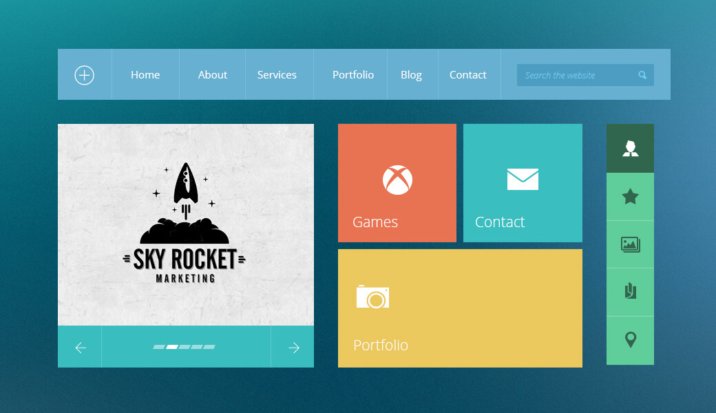 How to take advantage of flat design for web pages