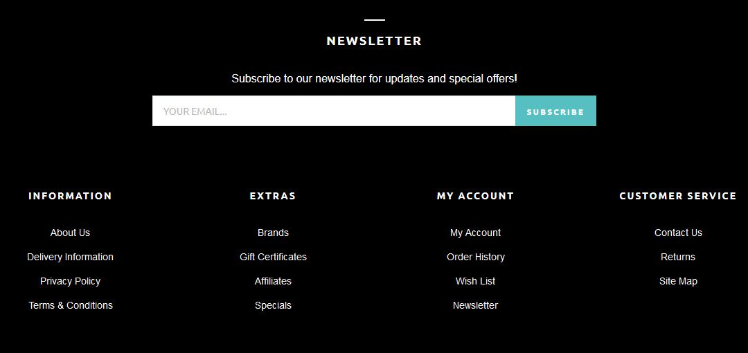 How to design a creative footer for a newsletter