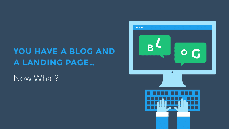 What to do with landing pages from posts that are on your blog?