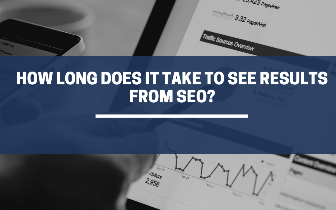 When will I see results from SEO?