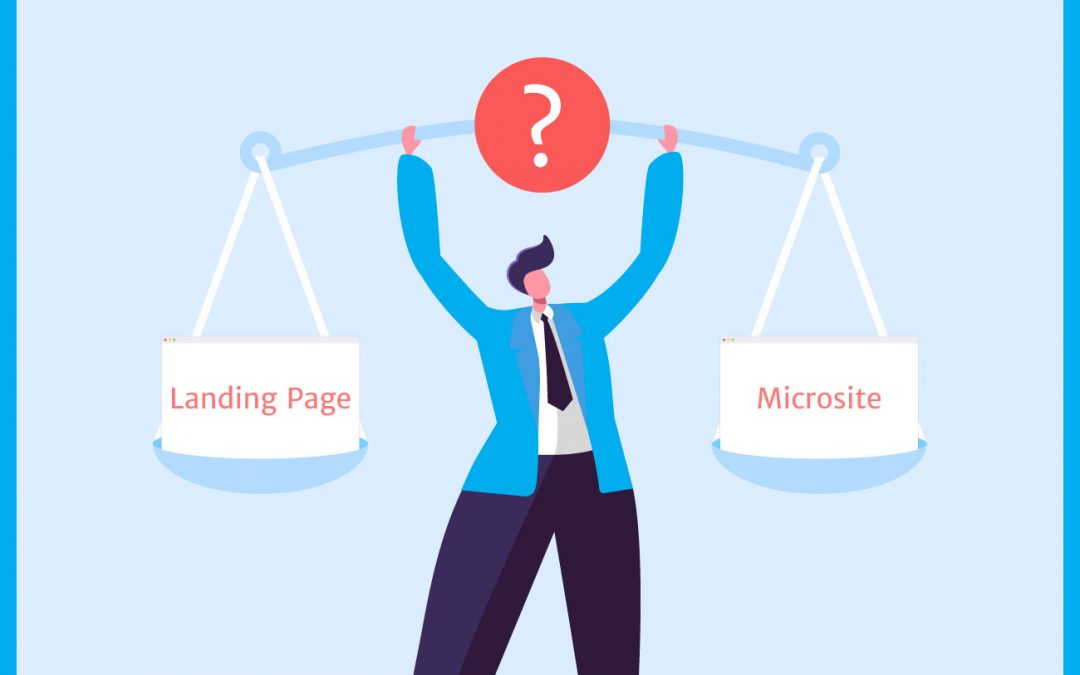 Main differences between a microsite and a landing page